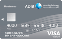 ADIB Business Platinum Covered Card