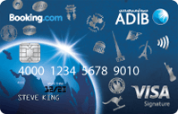 ADIB Booking.com Signature Card