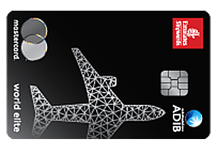 ADIB Emirates Skywards World Elite Card | Abu Dhabi Islamic Bank (ADIB) Credit Cards