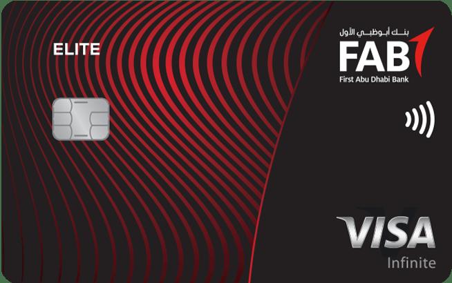 FAB Elite Infinite Credit Card | First Abu Dhabi Bank (FAB) Credit Cards